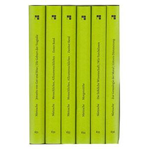 """Friedrich Nietzsche: """"Philosophische Werke in sechs Bänden"""""""